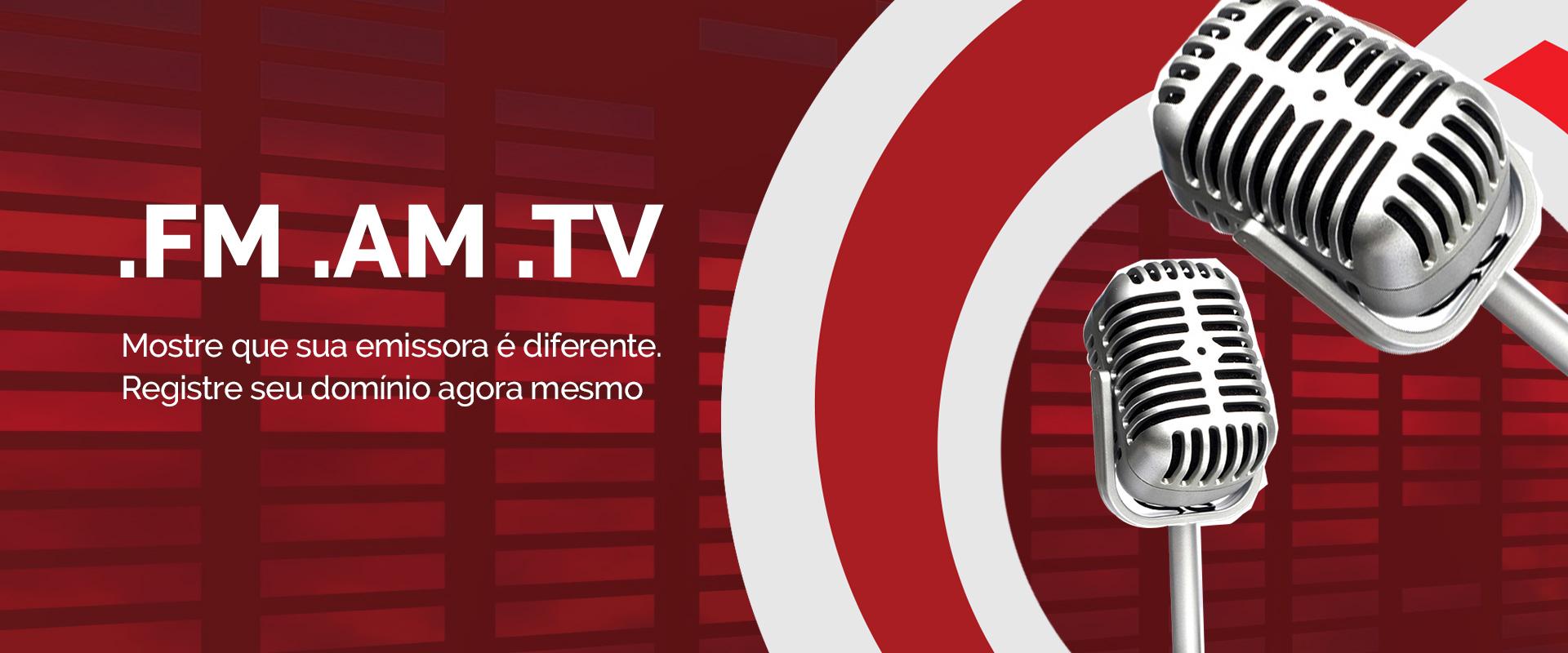 Registros de Domínios .FM, .AM e .TV